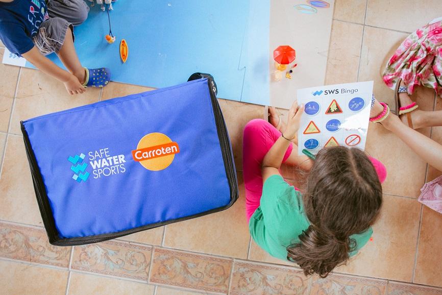 Τα Carroten Kids και το Safe Water Sports συνεργάζονται  για ασφαλές ατελείωτο παιχνίδι μέσα και έξω από το νερό!