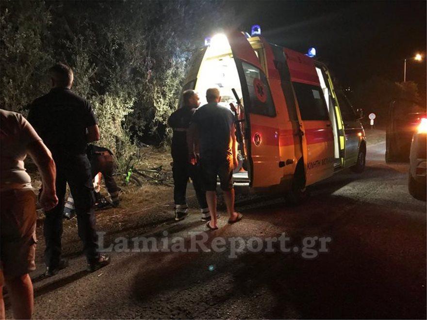 Λαμία: Αυτοκίνητο έπεσε πάνω σε παιδιά με ποδήλατα – Σε κρίσιμη κατάσταση 14χρονος