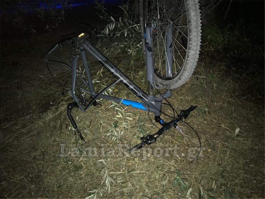 Τροχαίο στη Λαμία – Νεκρός ο 14χρονος που παρασύρθηκε με το ποδήλατό του