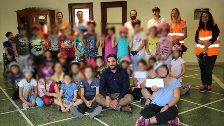 Μαθητές επισκέφθηκαν τον Δήμαρχο Χανίων με μια επιστολή για ασφαλείς μετακινήσεις στην πόλη