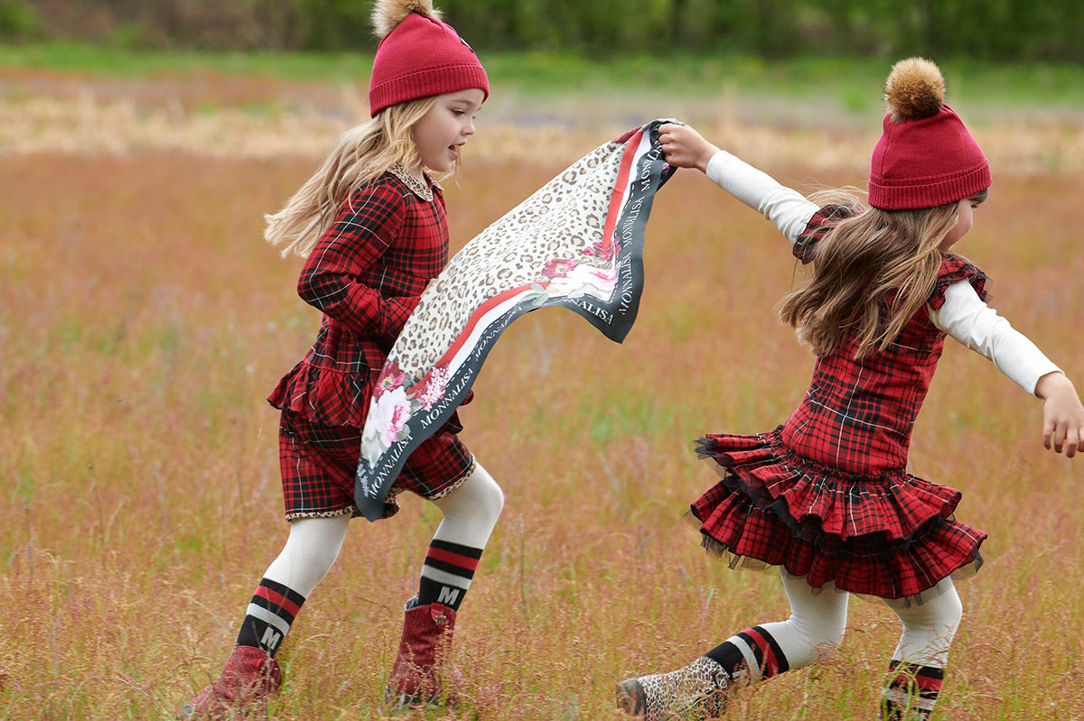 Θα λατρέψετε τα prints και τις υφές της νέας συλλογής παιδικών ρούχων Monnalisa