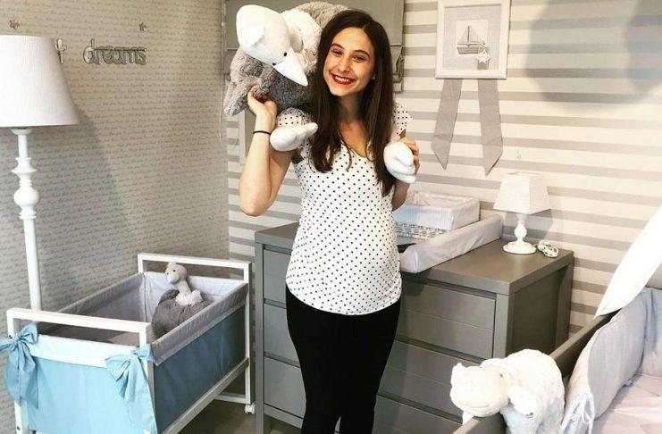 Η Φωτεινή Αθερίδου μόλις δημοσίευσε την πιο χαριτωμένη φωτογραφία του νεογέννητου γιου της