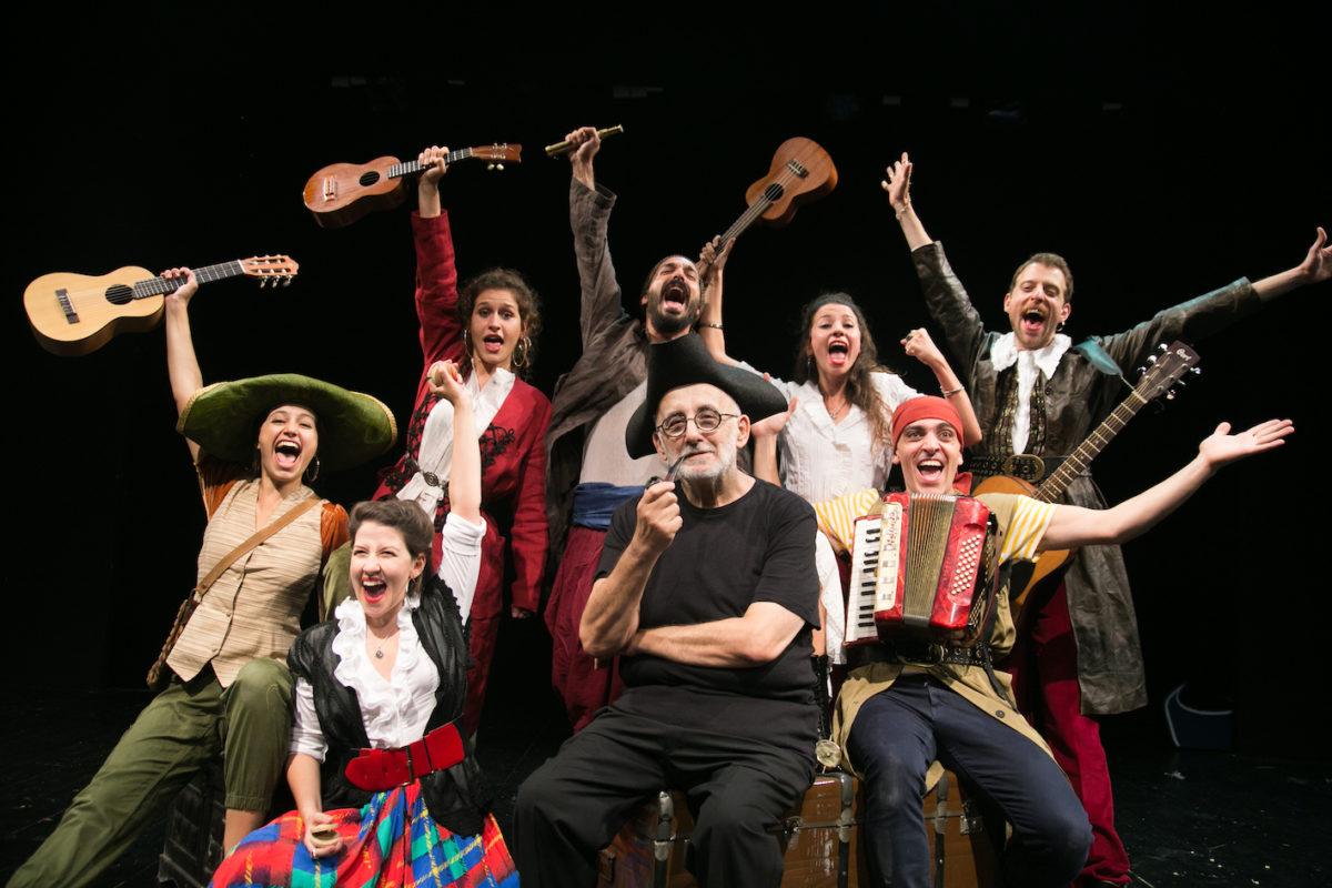 """""""Ως την άκρη του κόσμου"""": Μια πειρατική περιπέτεια συναντά τους μικρούς θεατρόφιλους στο Θέατρο Τζένη Καρέζη"""