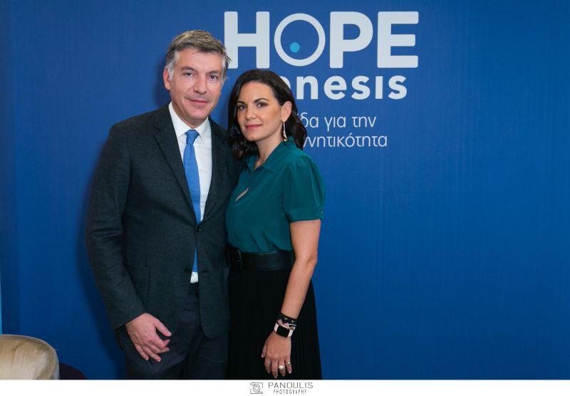 Η Όλγα Κεφαλογιάννη πρέσβης της HOPEgenesis για την ανατροπή της υπογεννητικότητας στην Ελλάδα