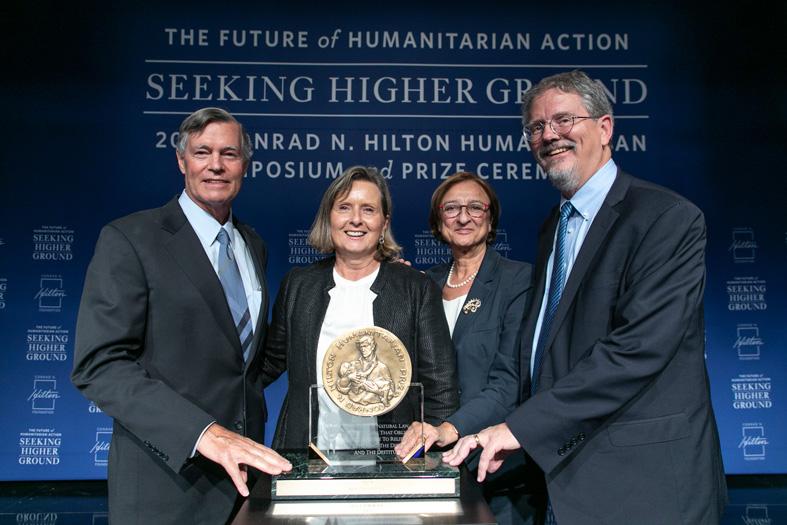 Απονομή στη ΜΕΤΑδραση του μεγαλύτερου ανθρωπιστικού βραβείου στον κόσμο από το Ίδρυμα Conrad N. Hilton