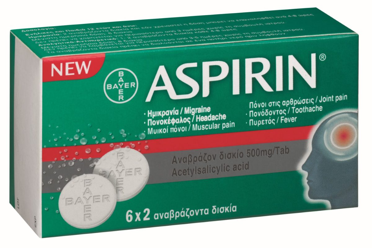 Η νέα ασπιρίνη σε αναβράζουσα μορφή βάζει τέλος στην ημικρανία!
