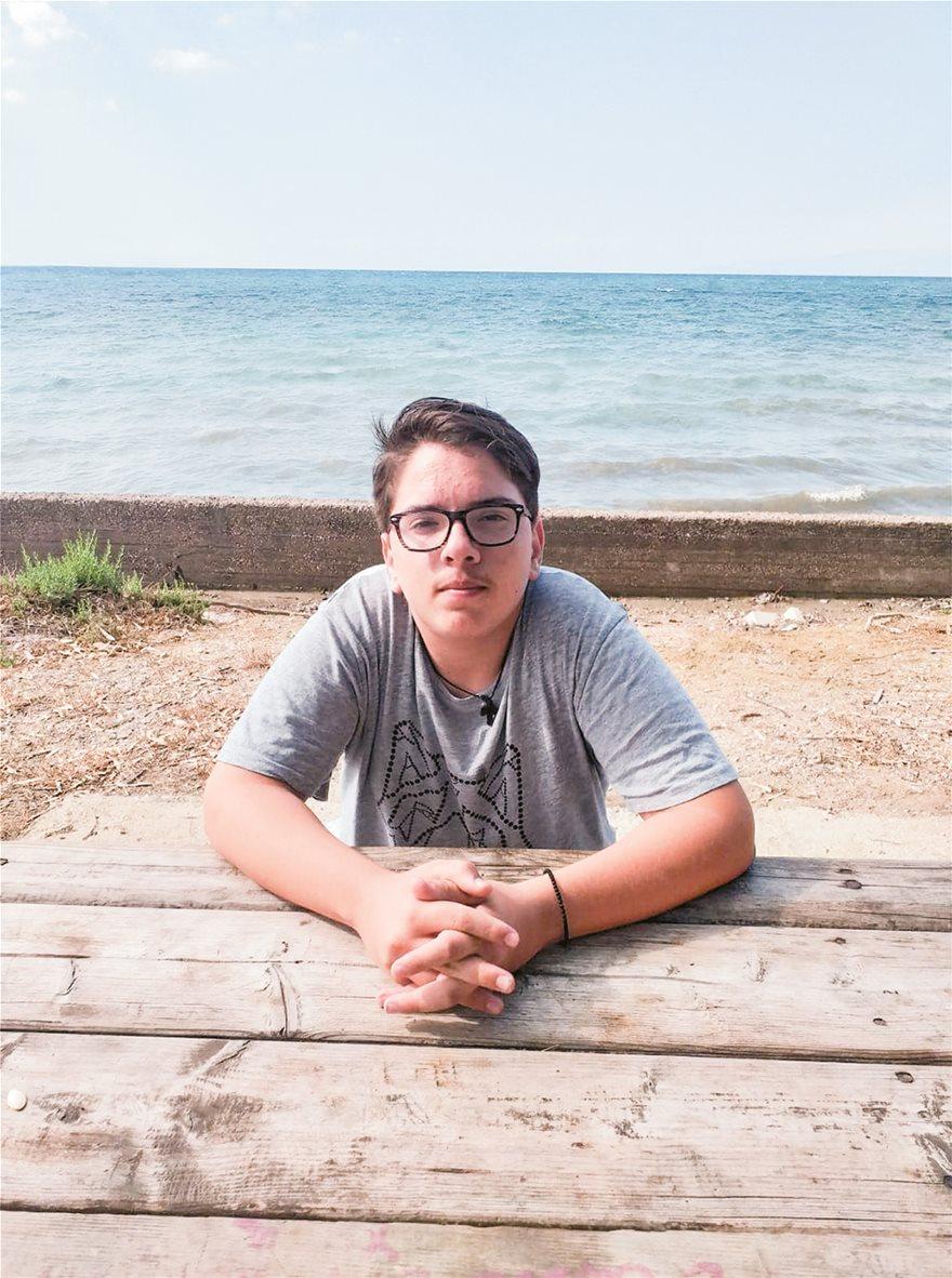 Το 'πε και το 'κανε! Ο 15χρονος Τέλης που έπεσε θύμα bullying ξεκινά εκστρατεία για να βοηθήσει παιδιά που βρέθηκαν στη θέση του