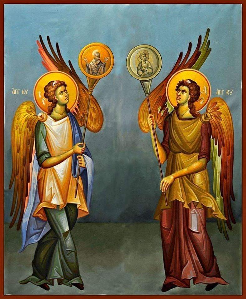 Σήμερα γιορτάζουν οι άγγελοι κι εμείς διαβάζουμε μια όμορφη ιστορία δύο αγγέλων…