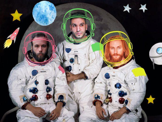 Κερδίστε 5 διπλές προσκλήσεις για την παράσταση «Οι 3 κοσμοναύτες» στο Θέατρο Μικρό Γκλόρια (24/11)