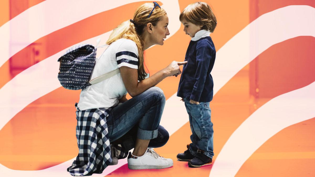 Η κακή συμπεριφορά του παιδιού δεν είναι ανάγκη για προσοχή μα για σχέση