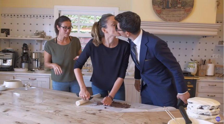 Η Κάτια Ζυγούλη φτιάχνει τούρτα για την 11χρονη Αναστασία και ο Σάκης Ρουβάς εισβάλει στην κουζίνα! (video)