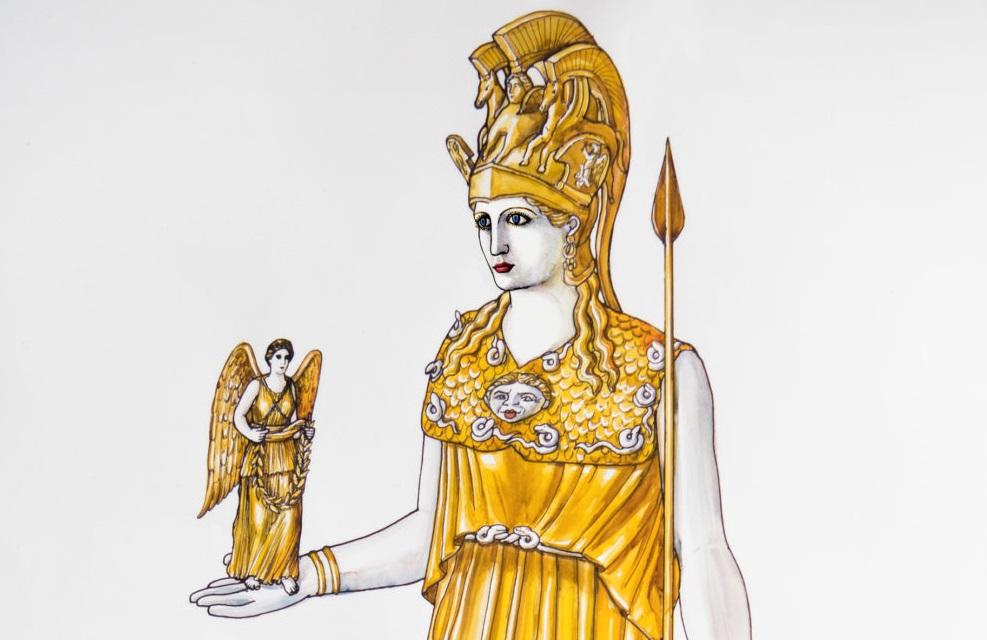 Γονείς και παιδιά, επισκεφθείτε το «χαμένο άγαλμα της Αθηνάς Παρθένου» στο Μουσείο Ακρόπολης