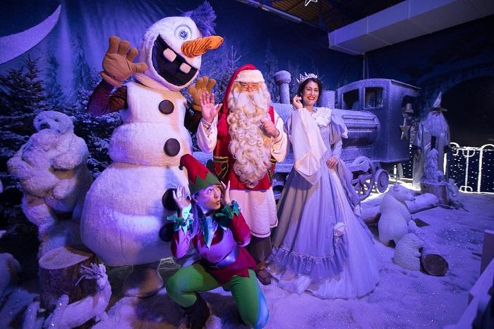Κερδίστε 3 διπλές προσκλήσεις για το Santa Claus Kingdom στο M.E.C Παιανίας (28/12-3/1)