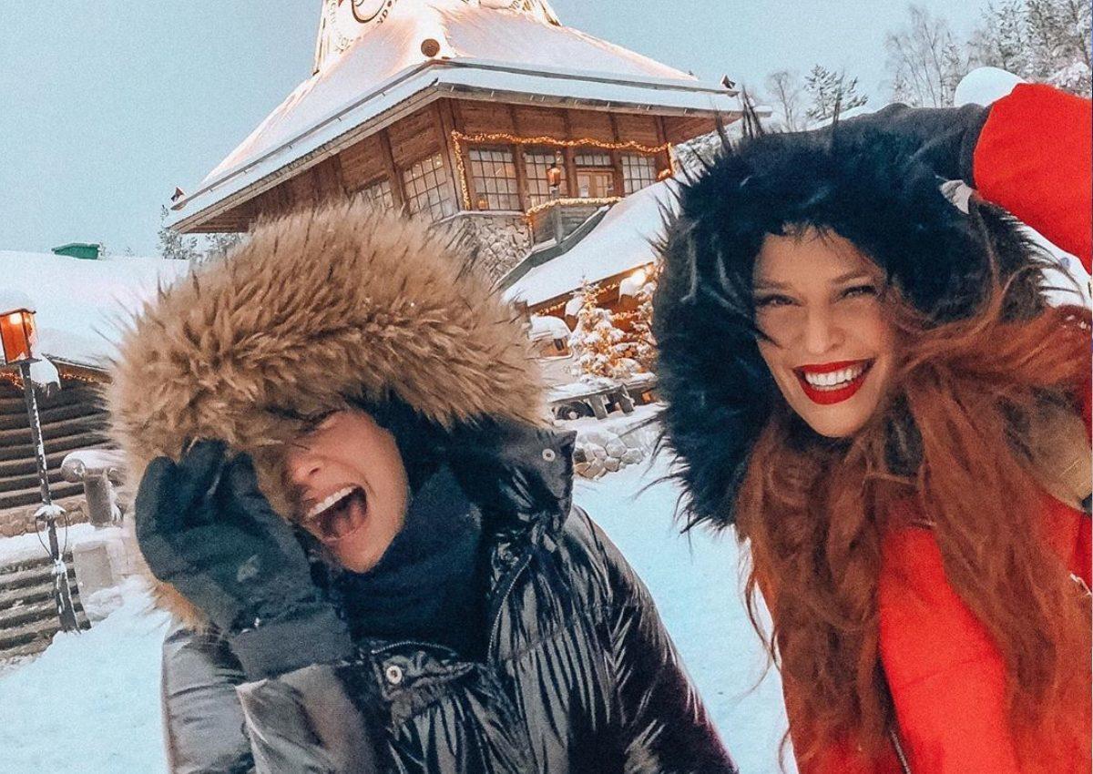 Ζηλευτή πρωτοχρονιά στη Λαπωνία για Μαρία Κορινθίου – Σίσσυ Χρηστίδου και τα παιδιά τους!