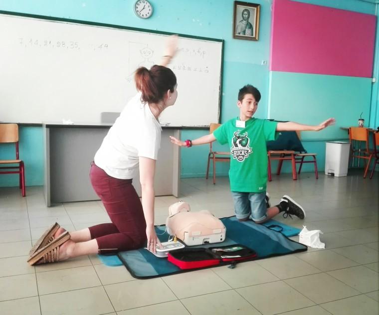 Η καλή είδηση της ημέρας: Απινιδωτές τοποθετήθηκαν σε σχολεία της Χαλκίδας