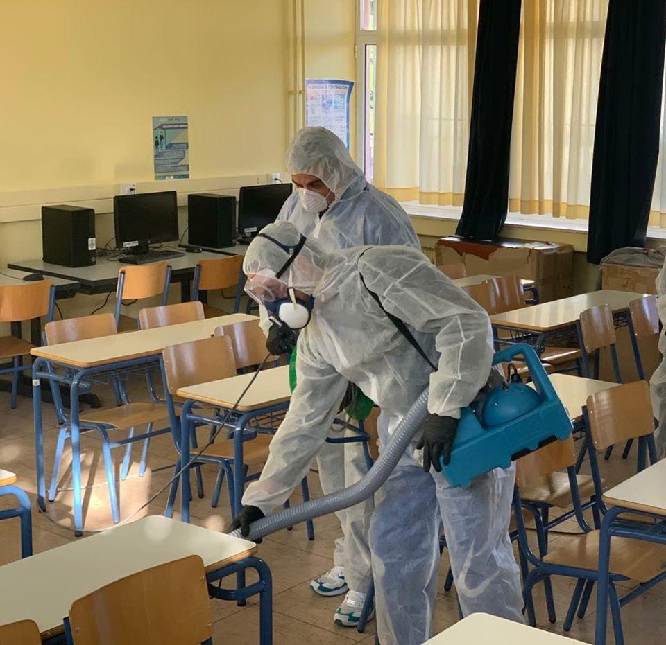Δ. Γλυφάδας: Θα γίνει απολύμανση σε όλα τα σχολεία