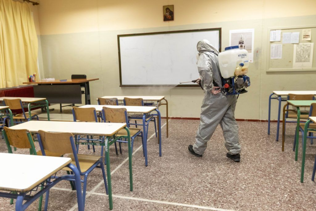 Δ. Ιλίου: Προληπτικές απολυμάνσεις σε σχολεία και παιδικούς σταθμούς