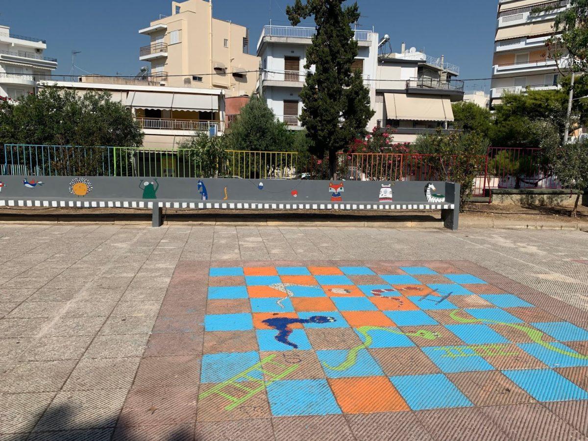 To 4ο Δημοτικό Σχολείο Παλαιού Φαλήρου είναι ένας παράδεισος γνώσης και χρωμάτων