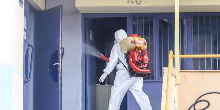 Δ. Θεσσαλονίκης: Προληπτική απολύμανση όλων των σχολείων
