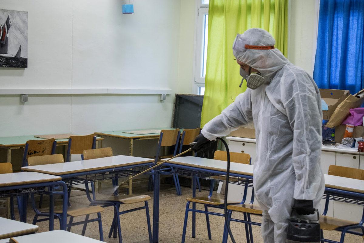 Δ. Βάρης – Βούλας – Βουλιαγμένης: Προληπτική απολύμανση σε όλα τα σχολεία