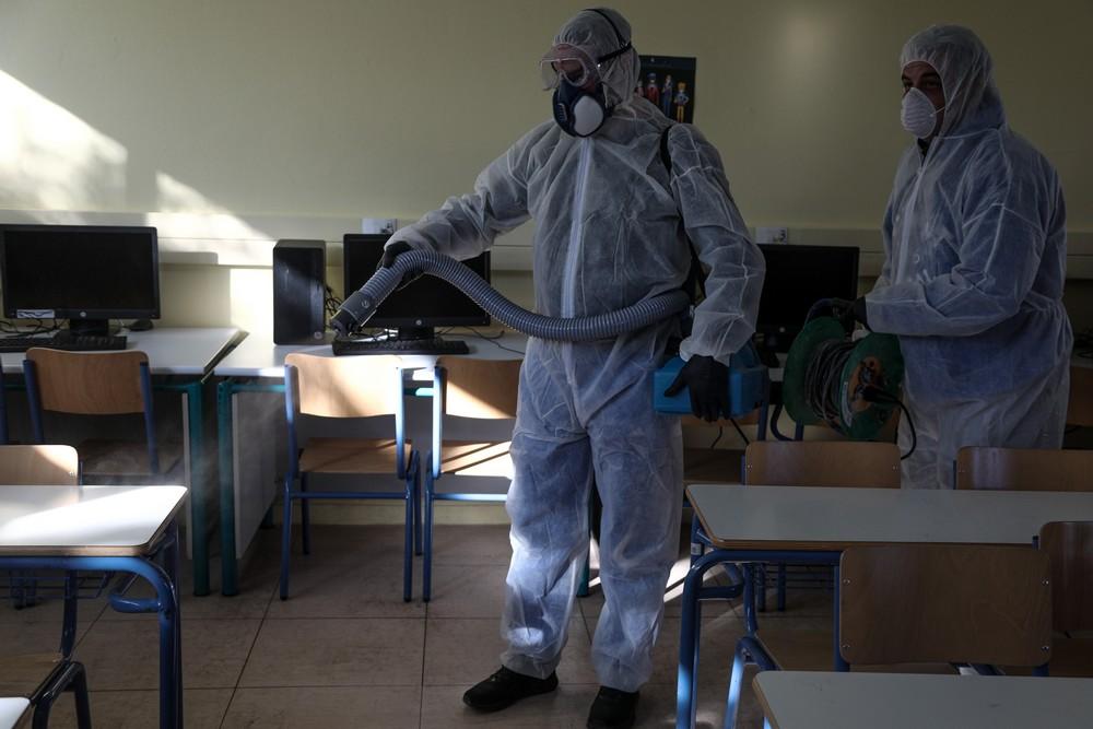 Δ. Δέλτα: Προληπτική απολύμανση και κλειστά σχολεία την Τρίτη 3 Μαρτίου