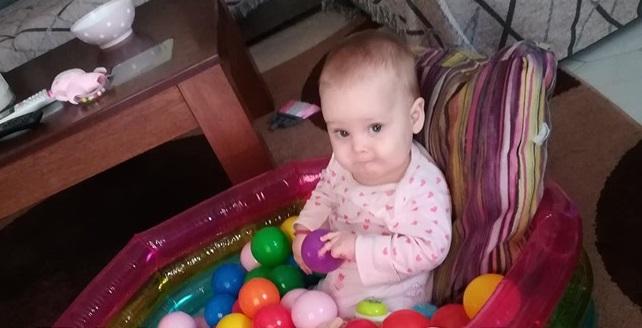 Η 10 μηνών Άννα-Ιωάννα πάσχει από νωτιαία μυϊκή ατροφία και χρειάζεται άμεσα τη βοήθειά μας!