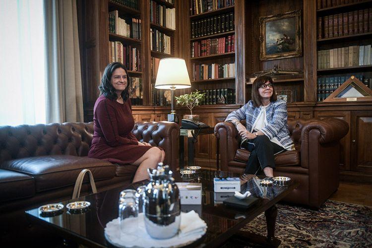 Με την Πρόεδρο της Δημοκρατίας συναντήθηκε η Υπουργός Παιδείας – Όλα όσα συζήτησαν