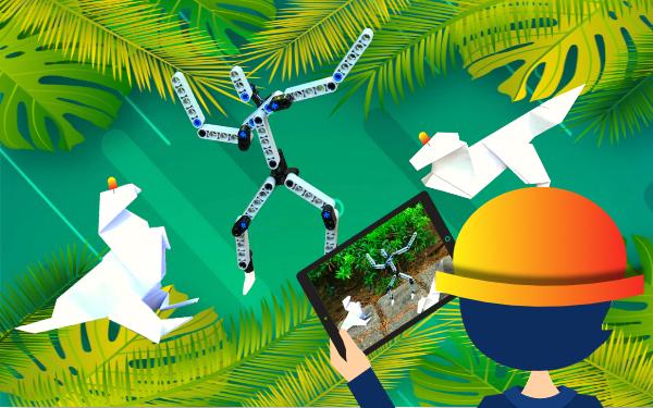 """""""Tech Adventure"""": Παιδιά, ετοιμαστείτε για δωρεάν καλοκαιρινές περιπέτειες στον κήπο του Ιδρύματος Ευγενίδου"""