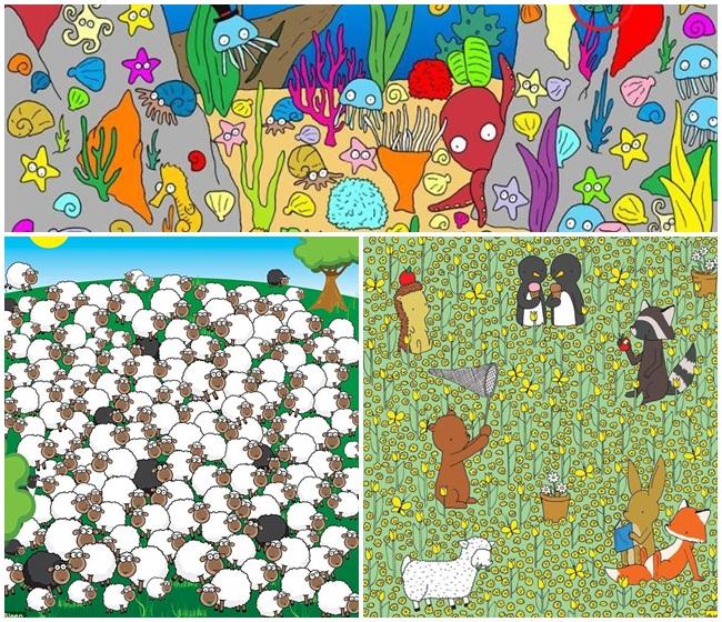 Πόσο γρήγορα μπορείτε να εντοπίσετε τα κρυμμένα ζώα στις παρακάτω φωτογραφίες;