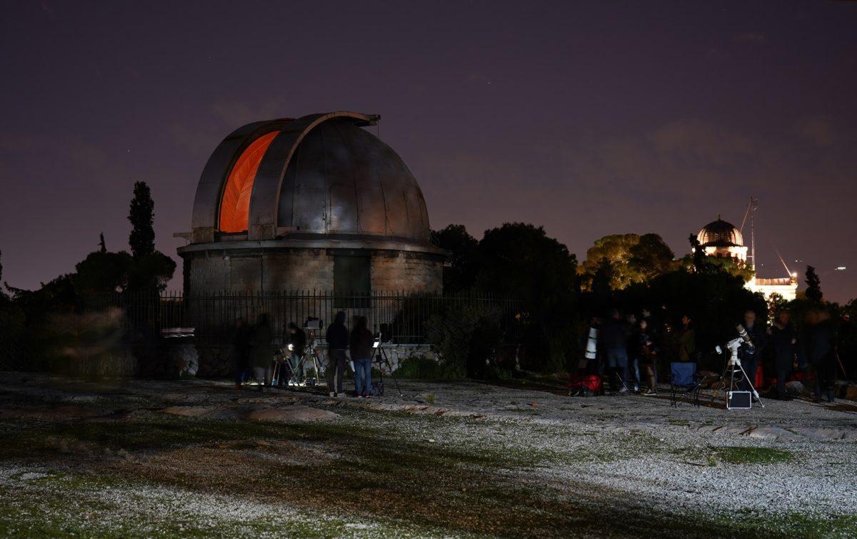Βόλτα στ' αστέρια: Απολαμβάνουμε βραδινές ξεναγήσεις στο Αστεροσκοπείο Θησείου