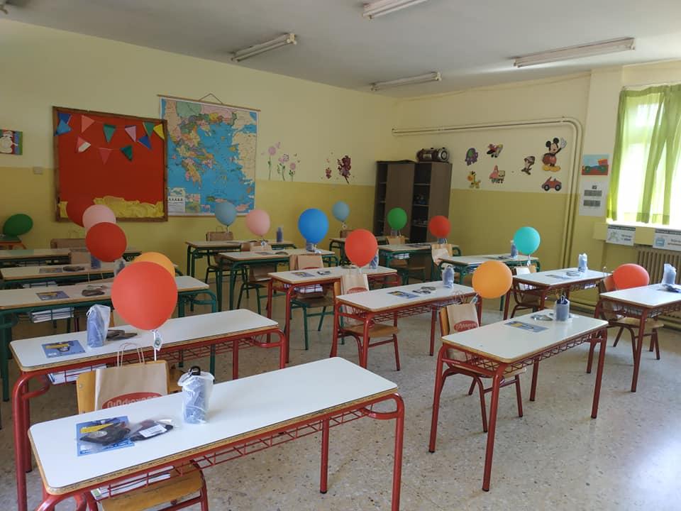 Το 6ο Δημοτικό Σχολείο Ηρακλείου βρήκε έναν πρωτότυπο τρόπο για να καλωσορίσει στην τάξη τα πρωτάκια