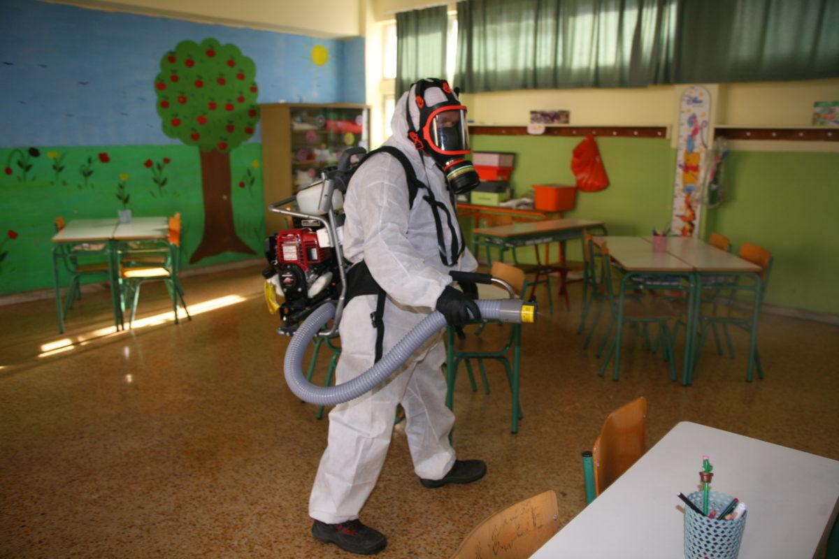 Μέτρα για την πρόληψη διάδοσης του κορωνοϊού στις σχολικές μονάδες του Δήμου Αλίμου