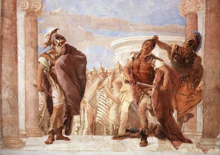 Αυτή η παραβολή του Αγαμέμνονα και του Αχιλλέα πριν τη μεγάλη μάχη είναι ό,τι κάθε αρνητής της μάσκας πρέπει να διαβάσει