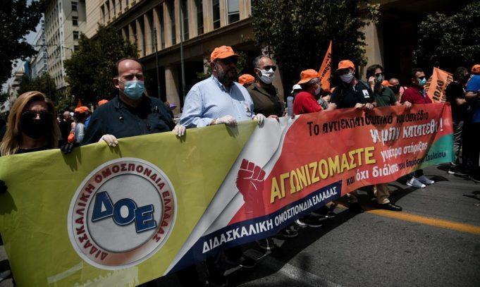 Η ΔΟΕ καλεί σε πανεκπαιδευτικό συλλαλητήριο την Πέμπτη (17/9)