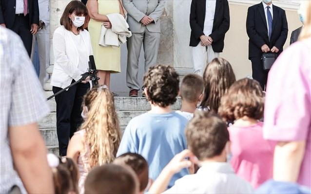 Καστελόριζο: Στον αγιασμό των σχολείων η Πρόεδρος της Δημοκρατίας