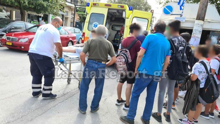 Λαμία: 13χρονος παρασύρθηκε από μηχανή μετά το σχόλασμα