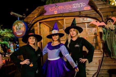 2 τυχερές οικογένειες κερδίζουν από ένα Kidom Family Pass για να παίξουν και να γιορτάσουν το Halloween στο Kidom του Allou! Fun Park