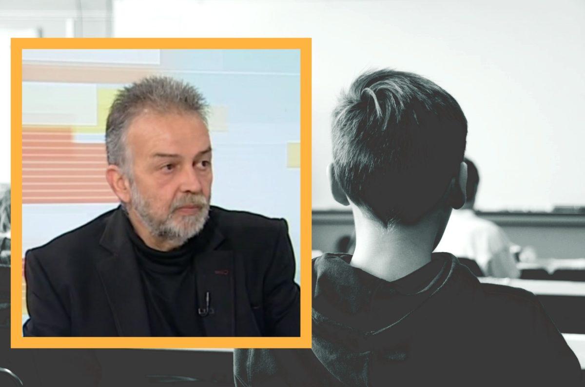 """Ο Σ. Στρατηγάκης στο Infokids.gr: """"Καμία ελπίδα στο εκπαιδευτικό σύστημα – Ένα είναι το μυστικό για τους μαθητές"""""""