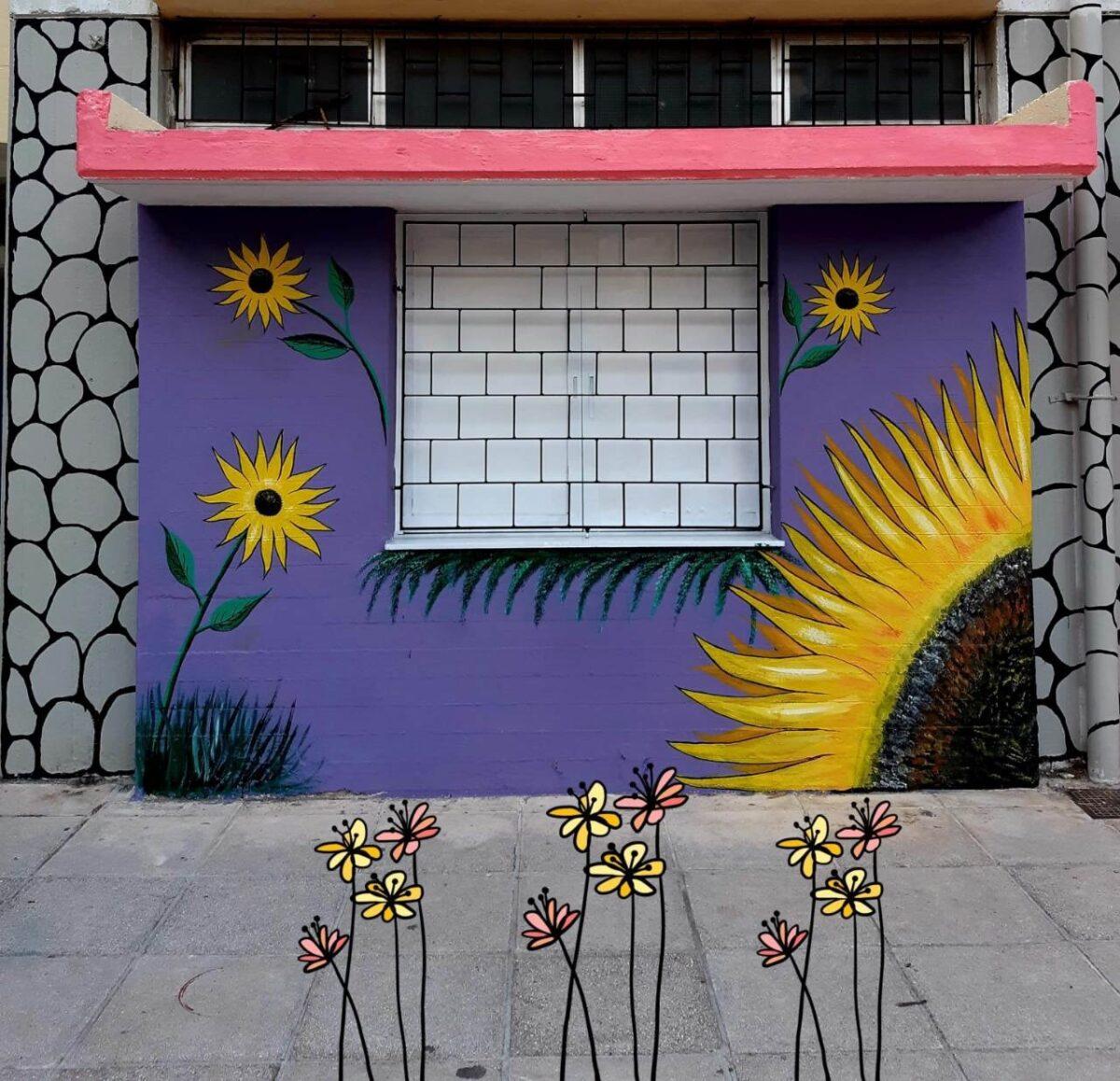 Το 14ο Δημοτικό Σχολείο Πειραιά υποδέχεται τους μαθητές με χρώματα και υπέροχες τοιχογραφίες