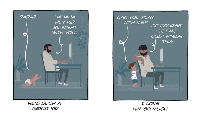 Κάναμε το σωστό; Η σχέση πατέρα και γιου σε 10 εκπληκτικά σκίτσα…