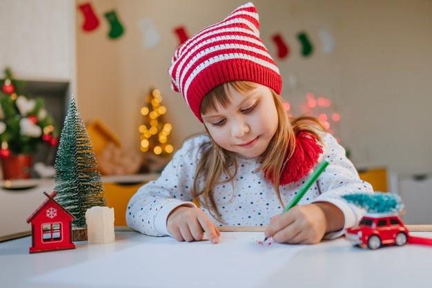 """To """"σ' αγαπό"""" είναι το ίδιο πολύτιμο με το """"σ΄αγαπώ"""" όταν το έχουν γράψει παιδιά σε χριστουγεννιάτικη κάρτα"""