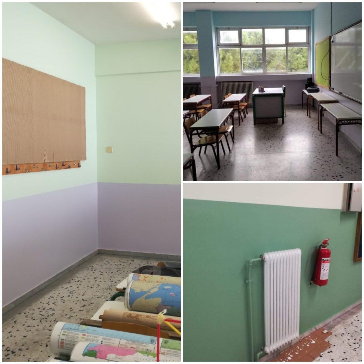 Όσο τα σχολεία ήταν κλειστά τα σχολικά κτίρια του Αλίμου ανανεώθηκαν και αναβαθμίστηκαν για να υποδεχτούν τα παιδιά!