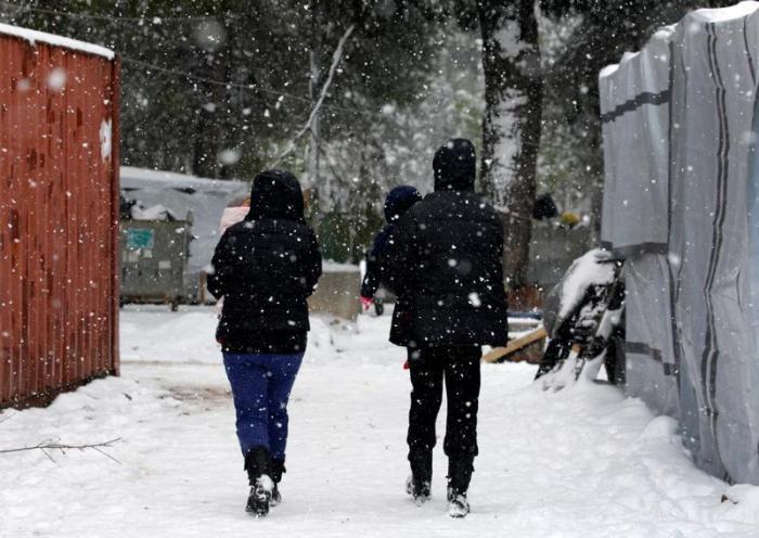 Θεσσαλονίκη: Στον δρόμο σε συνθήκες παγετού εντοπίστηκαν δύο 13χρονα ασυνόδευτα προσφυγόπουλα