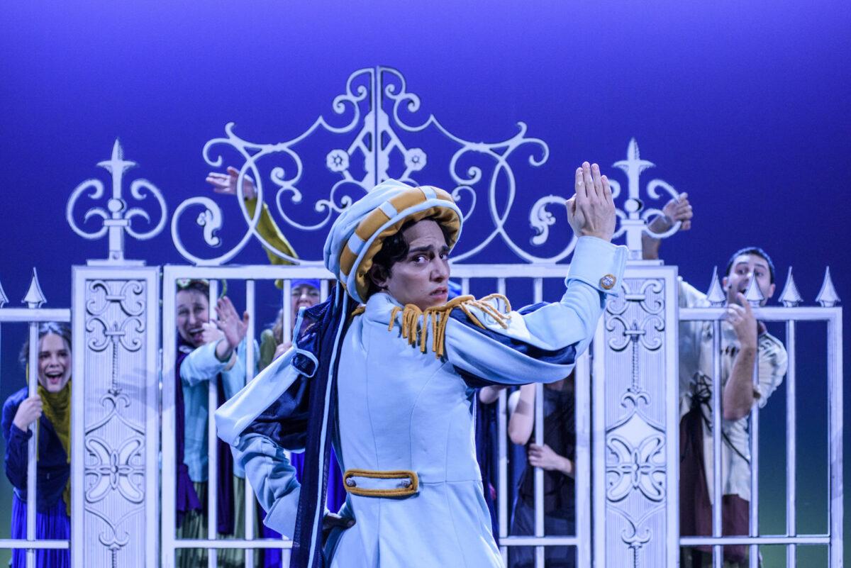 """Γονείς και παιδιά θα δούμε την παράσταση """"Ο πρίγκιπας και ο φτωχός"""" του Εθνικού Θεάτρου στο κανάλι της Βουλής (10/1)"""