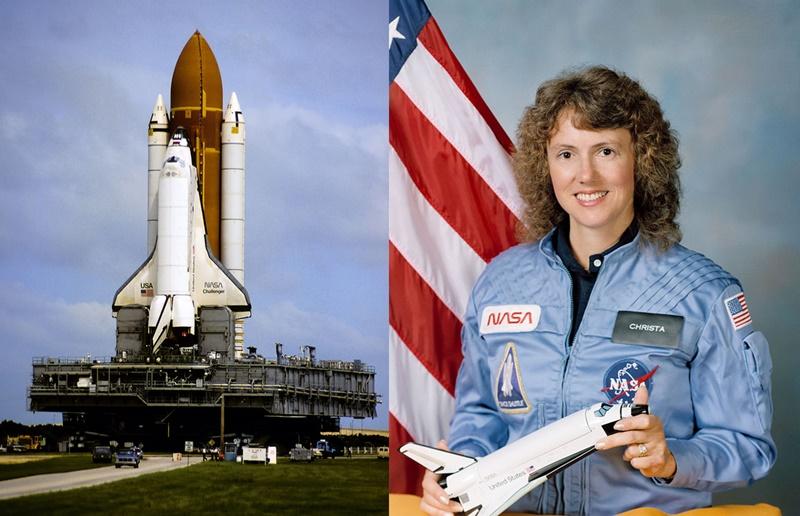 Η δασκάλα του «Challenger»: Ήθελε να ταξιδέψει στο Διάστημα για να το διηγηθεί στους μαθητές και τα παιδιά της