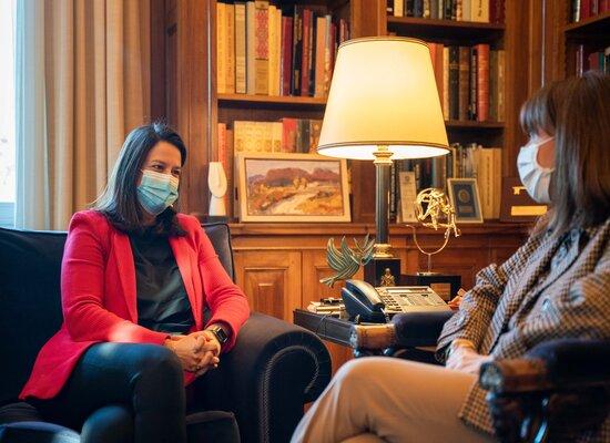 Τι δήλωσε η υπ. Παιδείας, Νίκη Κεραμέως, μετά τη συνάντηση με την Πρόεδρο της Δημοκρατίας