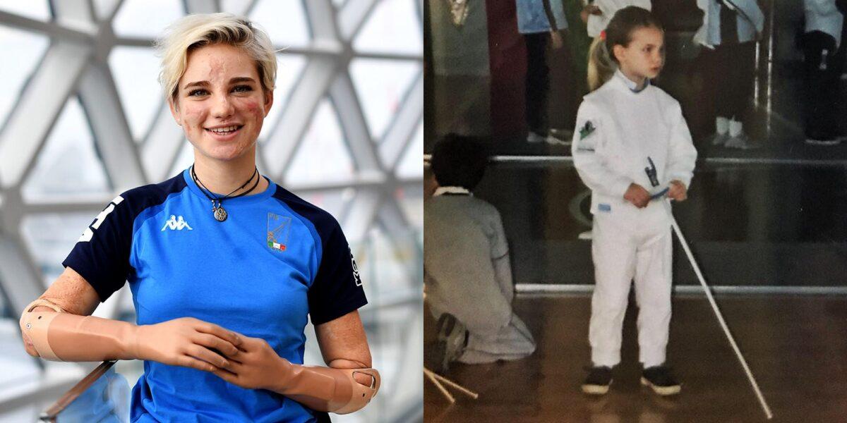 Η απίστευτη ιστορία της Bebe Vio που στα 11 έμεινε ανάπηρη λόγω μηνιγγίτιδας και σήμερα είναι Πρωταθλήτρια Ξιφασκίας