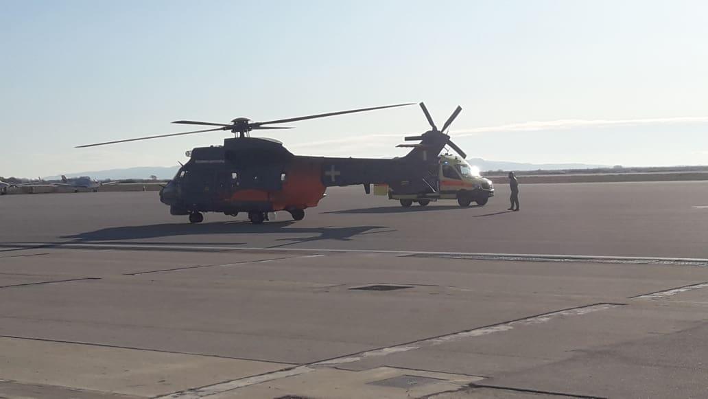 Αεροδιακομιδή βρέφους σε σοβαρή κατάσταση από την Κρήτη