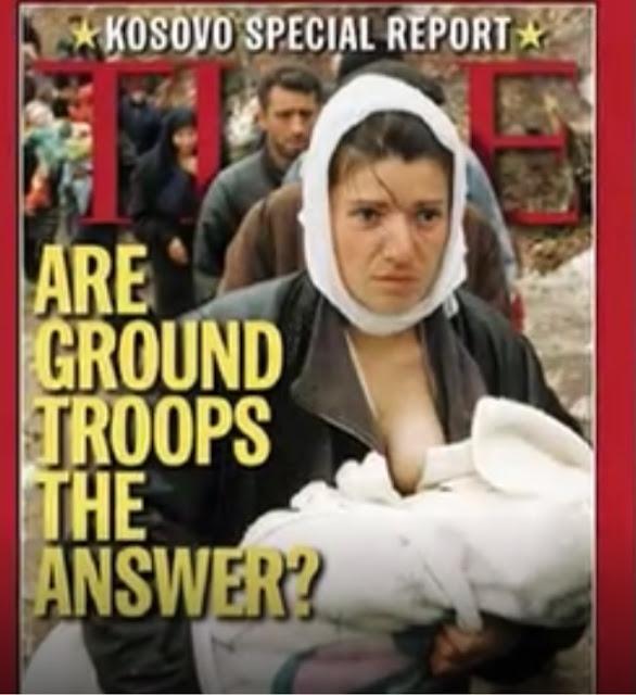 Η θηλάζουσα μητέρα του Κοσόβου: Μία συγκλονιστική εικόνα τιμά τη ζωοδόχο μάνα!