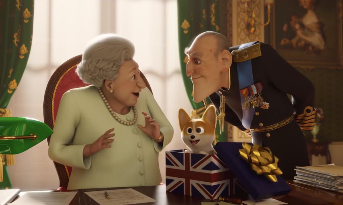 Η τρυφερή σχέση της βασίλισσας Ελισάβετ με τον πρίγκιπα Φίλιππο μέσα από ένα υπέροχο παιδικό animation (video)